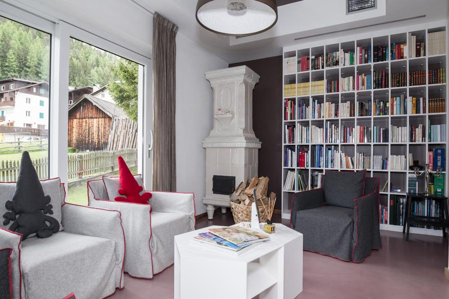 Libreria Villa Kofler Spa Hotel